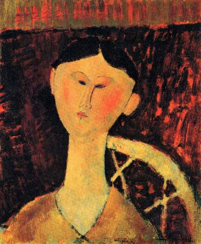 Modigliani - Portrait of Beatrice Hastings [2]
